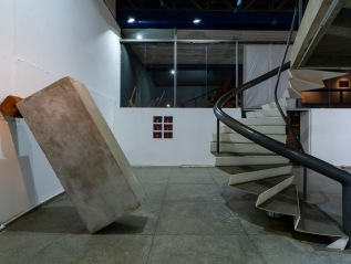 César Becker Flores e Ludmilla Alves – exposição Rios e Montanhas, no Espaço Piloto daUnB