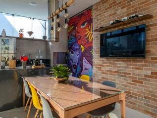 apartamento G&R – projeto: Studio Grell, marcenaria:Quintino