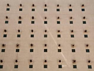 fachada pontilhada